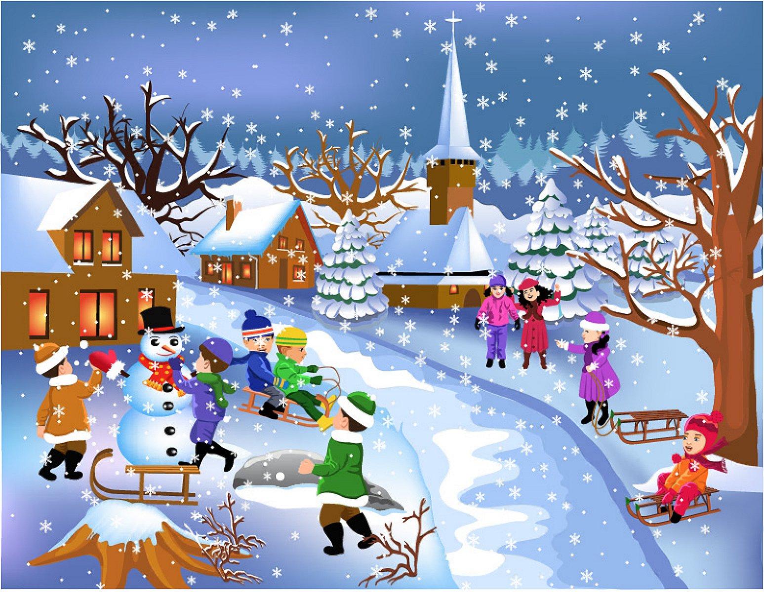 Забавные картинки, новогодние игры и открытки